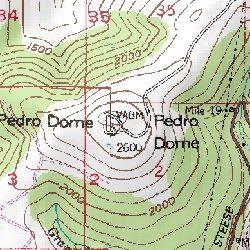 Pedro Dome, Fairbanks North Star County, Alaska, Summit [Livengood A ...