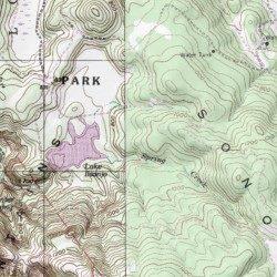 Annadel State Park, Sonoma County, California, Park [Kenwood USGS ...