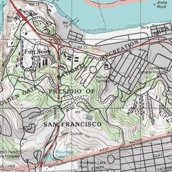 Presidio of San Francisco (historical), San Francisco County ...
