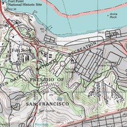Presidio of San Francisco, San Francisco County, California, Park ...