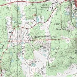 The Punchbowl, Nevada County, California, Basin [Grass Valley USGS ...