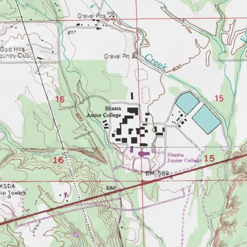 Shasta College, Shasta County, California, School [City of Shasta ...