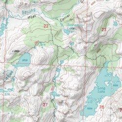 Emigrant Wilderness, Tuolumne County, California, Reserve [Cooper ...