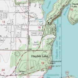 Hayden Lake Country Club, Kootenai County, Idaho, Locale [Hayden ...