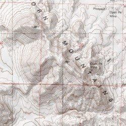 Big Horn Mountains, Maricopa County, Arizona, Range [Little Horn ...