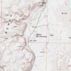 Baker Hot Springs, Juab County, Utah, Spring [Baker Hot Springs USGS ...