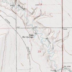 Uddy Hot Springs, Box Elder County, Utah, Spring [Riverside USGS ...