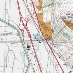 Utah Hot Springs, Weber County, Utah, Locale [Plain City USGS ...