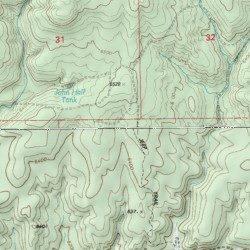 White Mountains, Navajo County, Arizona, Range [Show Low South USGS ...