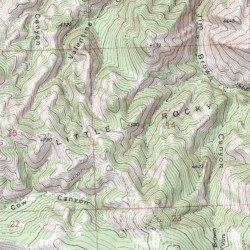 Little Rocky Mountains, Blaine County, Montana, Range [Lodge Pole ...