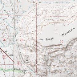 Black Mountain, Socorro County, New Mexico, Summit [Socorro USGS ...