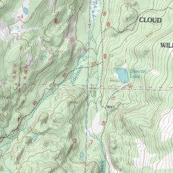 Bighorn Mountains, Johnson County, Wyoming, Range [Dome Lake USGS ...