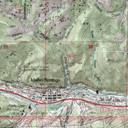 Edna Fannie Tunnel Mine, Clear Creek County, Colorado, Mine [Idaho ...