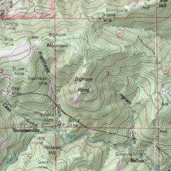 Bighorn Mountain, Boulder County, Colorado, Summit [Gold Hill USGS ...
