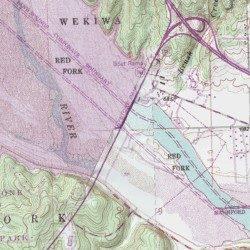 Keystone Lake, Tulsa County, Oklahoma, Reservoir [Keystone Dam USGS ...