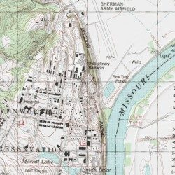 Fort Leavenworth, Leavenworth County, Kansas, Military [Leavenworth ...