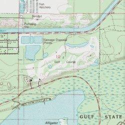 Gulf State Park Golf Course, Baldwin County, Alabama, Locale [Gulf ...