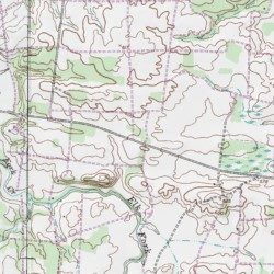 Fort Campbell, Montgomery County, Tennessee, Military [Woodlawn USGS ...