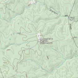 Cumberland Plateau Observatory, Van Buren County, Tennessee ...