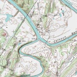 Ocoee River, Polk County, Tennessee, Stream [Benton USGS Topographic ...