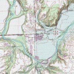 Southern Ohio Pit, Preble County, Ohio, Mine [Farmersville USGS ...