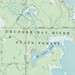 Thunder Bay River State Forest, Alpena County, Michigan, Forest ...