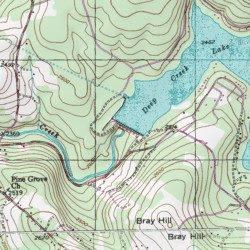 Deep Creek Lake, Garrett County, Maryland, Reservoir [Sang Run USGS ...