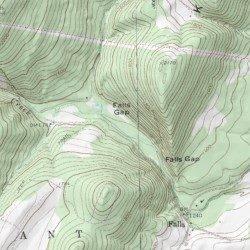 Greenland Gap, Grant County, West Virginia, Gap [Greenland Gap USGS ...