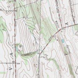 Finger Lakes, Seneca County, New York, Lake [Stanley USGS ...