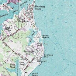 Mayo Beach Park, Anne Arundel County, Maryland, Park [Annapolis USGS ...
