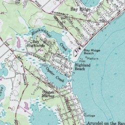 Bay Ridge Beach, Anne Arundel County, Maryland, Beach [Annapolis ...