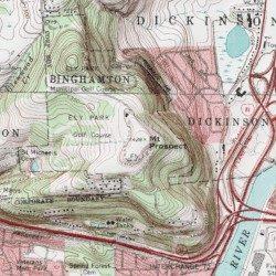 Mount Prospect, Broome County, New York, Summit [Binghamton West ...