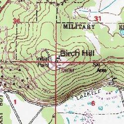 Birch Hill Fairbanks North Star County Alaska Summit Fairbanks D - Alaska topo maps