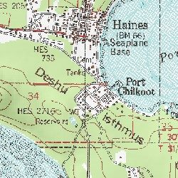 Haines Haines County Alaska Populated Place Skagway A 2 Usgs