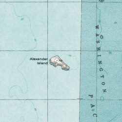Alexander island jefferson county washington island toleak topographic map of alexander island sciox Images