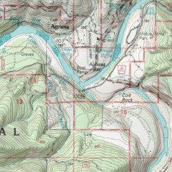 Illinois River Curry County Oregon Stream Agness Usgs