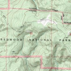 Redwood National Park Del Norte County California Park Hiouchi
