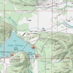 Deer Creek Cemetery Josephine County Oregon Cemetery Selma Usgs
