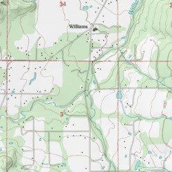 East Fork Williams Creek Josephine County Oregon Stream Williams