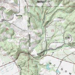 Hopland Rancheria Mendocino County California Civil Hopland Usgs