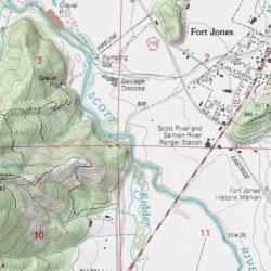 Scott Valley Siskiyou County California Valley Fort Jones Usgs