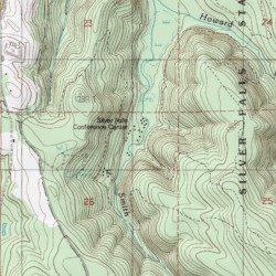 Silver Falls State Park Marion County Oregon Park Stout Mountain