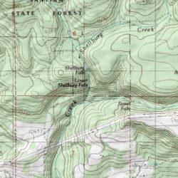 Lyons Oregon Map.Lower Shellburg Falls Marion County Oregon Falls Lyons Usgs