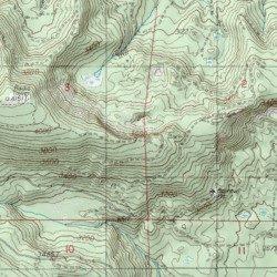 Mill City Oregon Map.Snow Peak Mill City Trail Linn County Oregon Trail Snow Peak