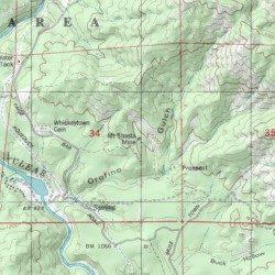 Mount Shasta Mine Shasta County California Mine Igo Usgs