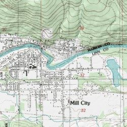 Mill City Oregon Map.Kimmel Park Marion County Oregon Park Mill City North Usgs