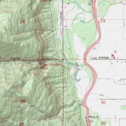 Hard Scrabble Falls Gulch, Whatcom County, Washington, Valley ... on