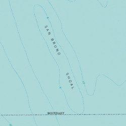 San Bruno Shoal, San Mateo County, California, Bar [Hunters ... on redwood city map, clovis map, escondido village map, pleasanton map, north san francisco map, port of san francisco map, berkeley map, south san francisco ca map, cathedral city map, san pablo map, lafayette map, porterville map, market st san francisco map,