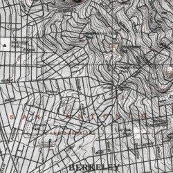 Landscape Station Berkeley Post Office Alameda County California