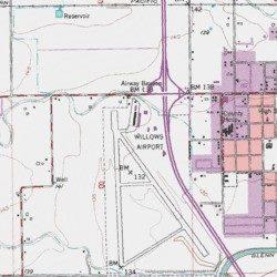 Glenn County California Map.Willows Glenn County Airport Glenn County California Airport